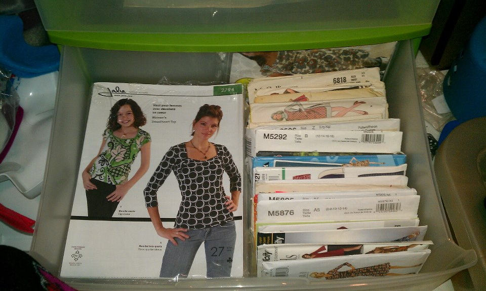 Sewing Pattern Storage Solutions – Everything Your Mama Made & More!