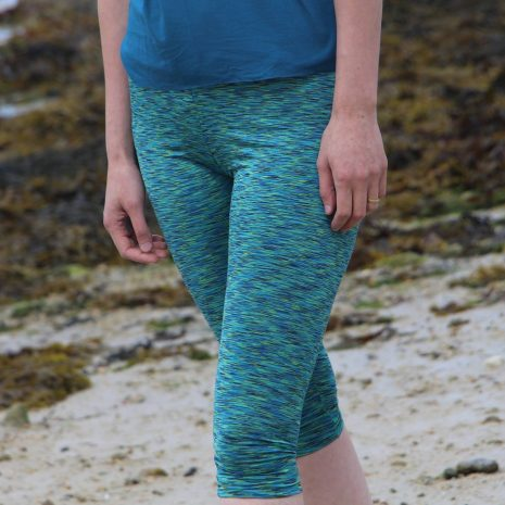Crop Length, Regular Waistband Misses EYMM Get Moving Leggings
