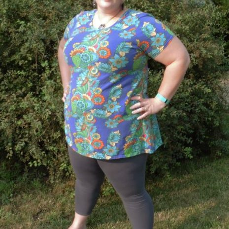 7/8 Ankle Length Plus Size EYMM Get Moving Leggings