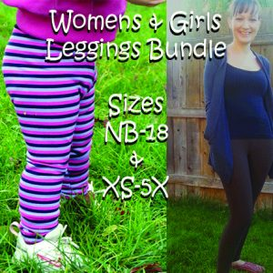 Get Moving & Jocelyn's Leggings Sizes Newborn-5X BUNDLE