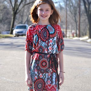 Sasha's Top, Tunic & Dress (NB-18 Tween)