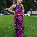 California Maxi Dress Pattern #EYMM #DIY