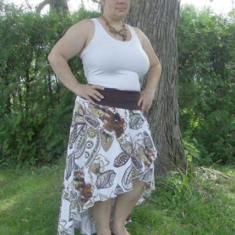 EYMM Calla Lily Skirt Pattern #eymm #diy