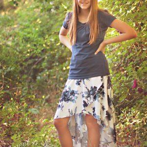 Girl's Calla Lily Skort (Newborn – 18 Tween)