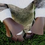 Free SVEN Inspired Reindeer Costume Tutorial & Pattern Pieces. #frozen #Halloween #dressup #diy #eymm #free