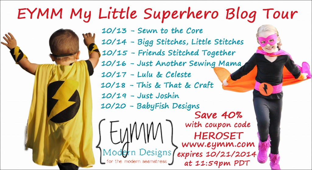 superhero blog tour