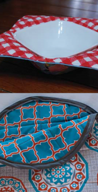 EYMM Bowl Cozy and Tortilla Warmer Cover