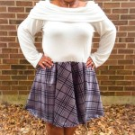 EYMM Off The Shoulder Dress & Peplum #EYMM #DIY #Sewing