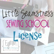 Little Seamstress Sewing School #diy #eymm