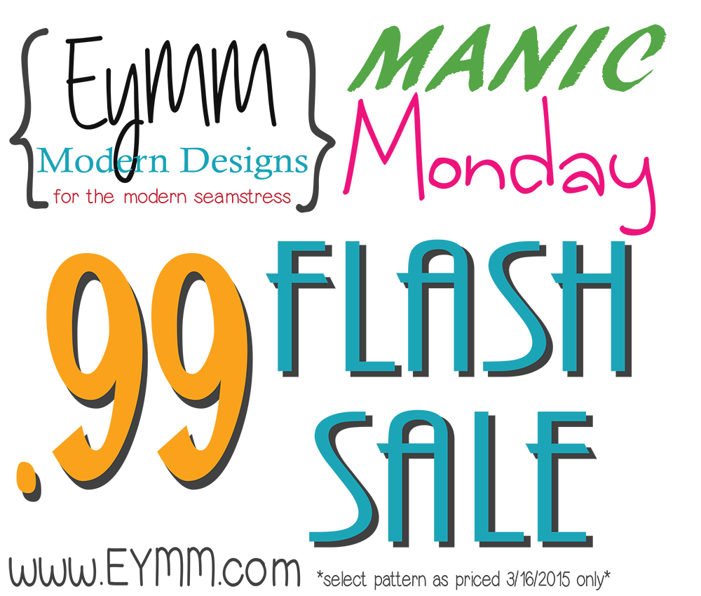 manic monday #EYMM #DIY #Sewing #Flashsale #.99
