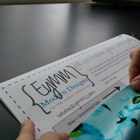 #EYMM FREE Printable Stretch Guide for Sewing www.eymm.com #diy