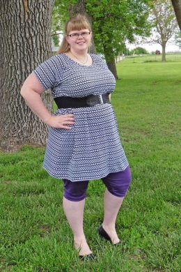 Hack: Callie's Nightgown to Raglan Tunic
