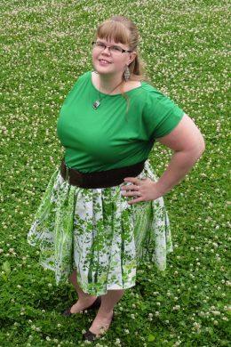 Hack: Adding a Skirt to Kymy's Dolman