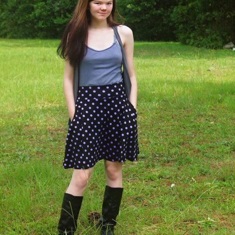 #EYMM #DIY Capsule Skirt for girls & dolls NB-18 Tween www.eymm.com