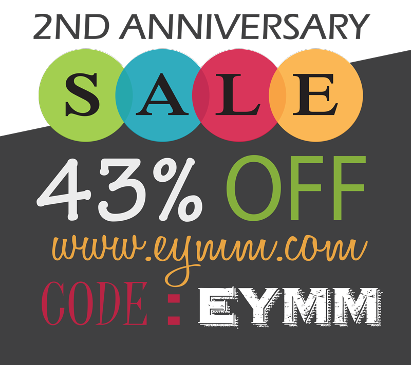 #EYMM #DIY Sewing Pattern Sale!  Save 43% through 8/3/2015 www.eymm.com
