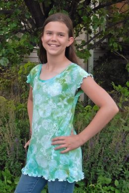 Ice Dyed Riley's Nightgown Shirt Hack