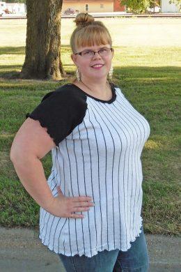 Callie's Nightgown to Raglan Tee Hack