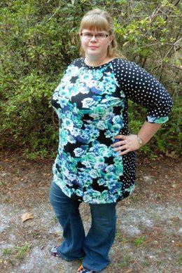 Hack: Callie's Nightgown to Cozy Raglan Top