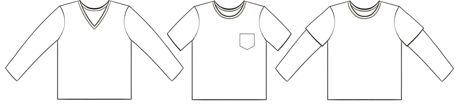 Parker's Vintage Fit T-Shirt Tech Drawing #EYMM www.eymm.com