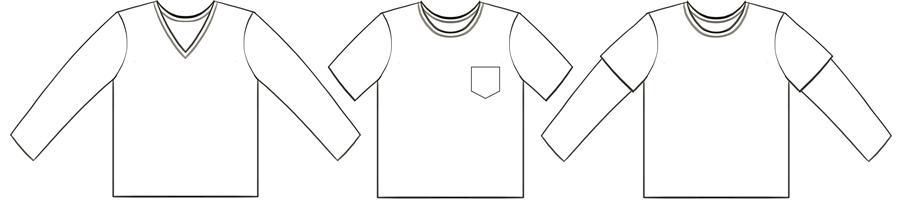Parker's Vintage Fit T-Shirt Tech Drawing #EYMM www.eymm.com
