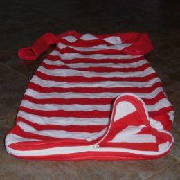 Hack: Riley's Nightgown to Sleep Sack