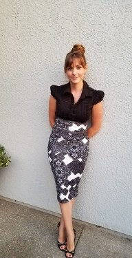 EYMM Timeless Pencil Skirt www.eymm.com