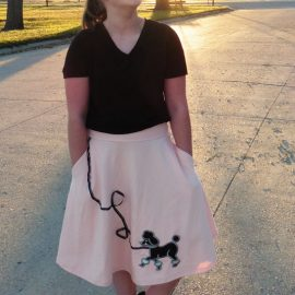 Poodle Skirt for Halloween … and Beyond